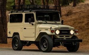 Toyota Land Cruiser Hard Top 5-Speed 1982 года