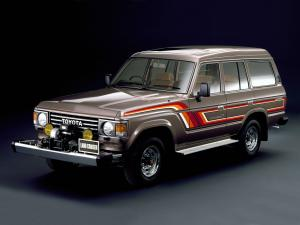 1984 Toyota Land Cruiser 60 VX Turbo High Roof HJ61V
