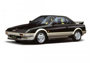 Toyota MR2 G-Limited 1984 года (JP)