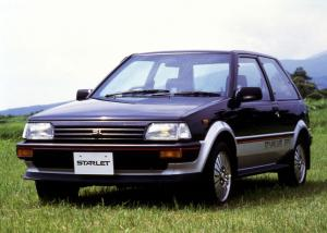1984 Toyota Starlet Si Limited