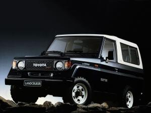1985 Toyota Land Cruiser II Canvas Top