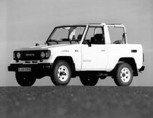 Toyota Land Cruiser II Soft Top 1985 года