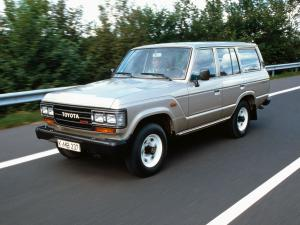 1987 Toyota Land Cruiser 60 VX