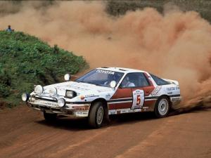 Toyota Supra Liftback Safari Rally Car 1987 года