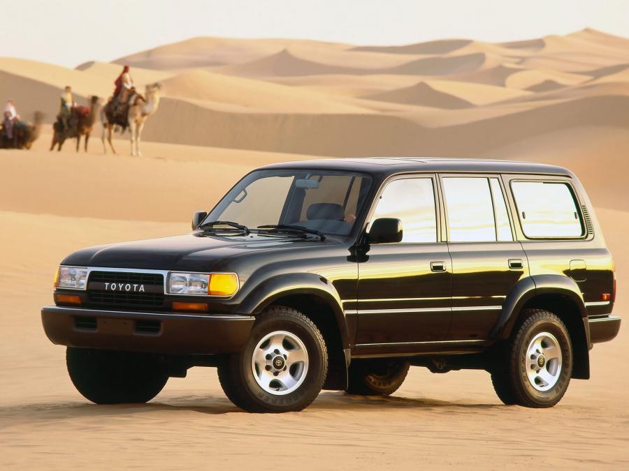 Toyota Land Cruiser 80 1989 года выпуска для рынка США. Фото 1. VERcity