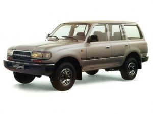 Toyota Land Cruiser 80 GX 1989 года