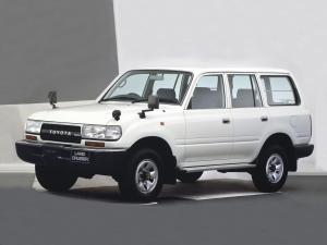 Toyota Land Cruiser 80 VAN STD 1989 года