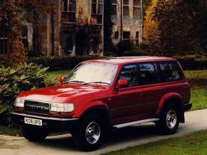 Toyota Land Cruiser 80 VX 1989 года (UK)