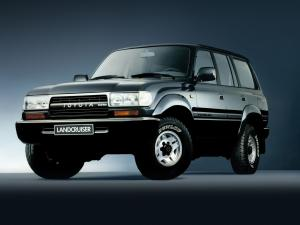 Toyota Land Cruiser 80 1989 года