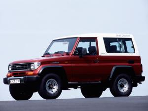 Toyota Land Cruiser II (LJ73) 1990 года