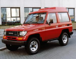 Toyota Land Cruiser II FRP Top Customwagon 1990 года (EU)