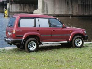 1991 Toyota Land Cruiser 80 Customwagon