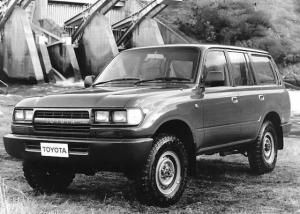 1992 Toyota Land Cruiser 80 RV