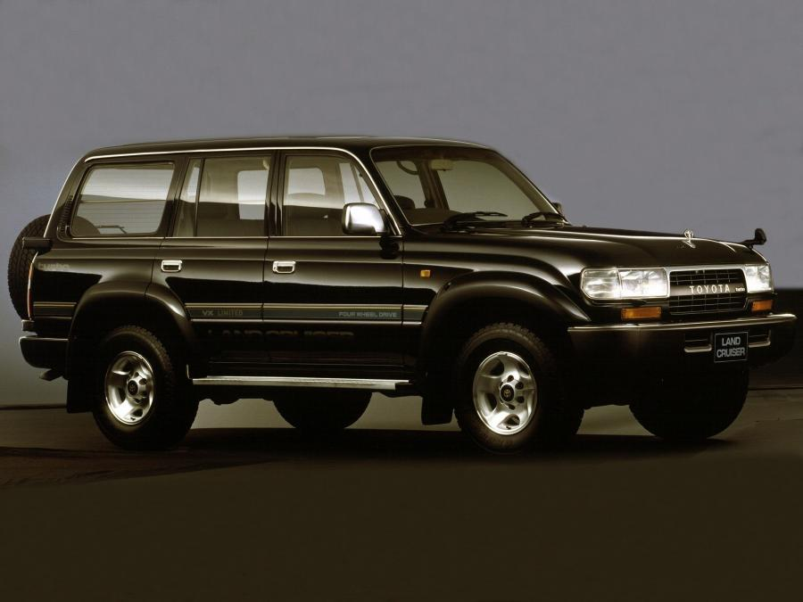 1992 Toyota Land Cruiser 80 VAN VX-Limited Special Package (JP)