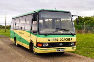 1997 Toyota Coaster BB50R Caetano Optimo II
