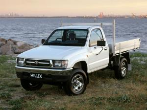 Toyota Hilux Single Cab Chassis 1997 года (AU)
