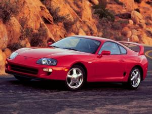 1997 Toyota Supra Turbo Sport Roof 15th Anniversary