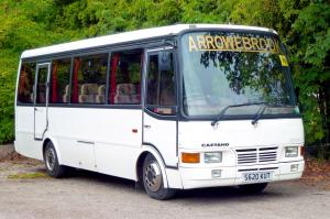 1998 Toyota Coaster BB50R Caetano Optimo IV