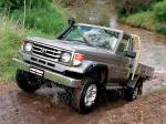Toyota Land Cruiser 70 Cab Chassis GXL 1999 года