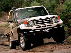 1999 Toyota Land Cruiser 70 Cab Chassis GXL
