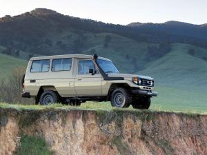 1999 Toyota Land Cruiser 70 Troop Carrier