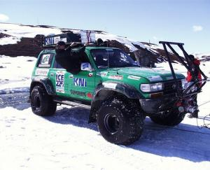 1999 Toyota Land Cruiser AT44 Greenland Expedition by Arctic Trucks