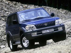 1999 Toyota Land Cruiser Prado 90 5-Door