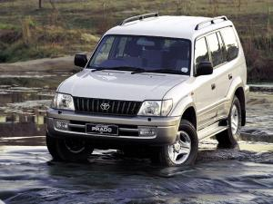Toyota Land Cruiser Prado 90 GX 5-Door 1999 года (ZA)