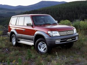 Toyota Land Cruiser Prado 90 Grande 5-Door 1999 года (AU)