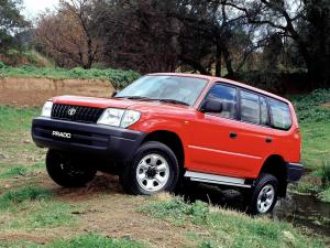1999 Toyota Land Cruiser Prado 90 RV 5-Door