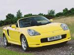 Toyota MR2 Roadster 1999 года (UK)