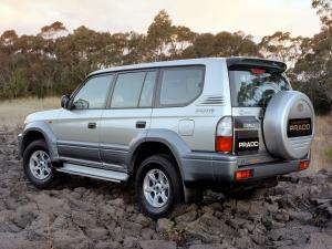 2000 Toyota Land Cruiser Prado 90 5-Door Kimberley Edition