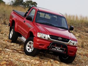 Toyota Hilux 2700i Raider Single Cab 2001 года (ZA)