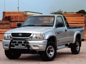 2001 Toyota Hilux 3.0 KZ-TE Raider Single Cab