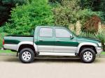 Toyota Hilux Double Cab 2001 года (UK)