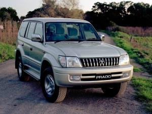 2001 Toyota Land Cruiser Prado 90 5-Door 50th Anniversary