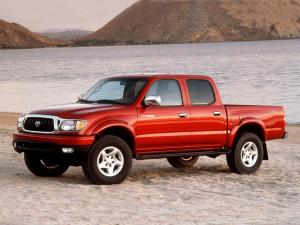 Toyota Tacoma Limited Double Cab 2001 года