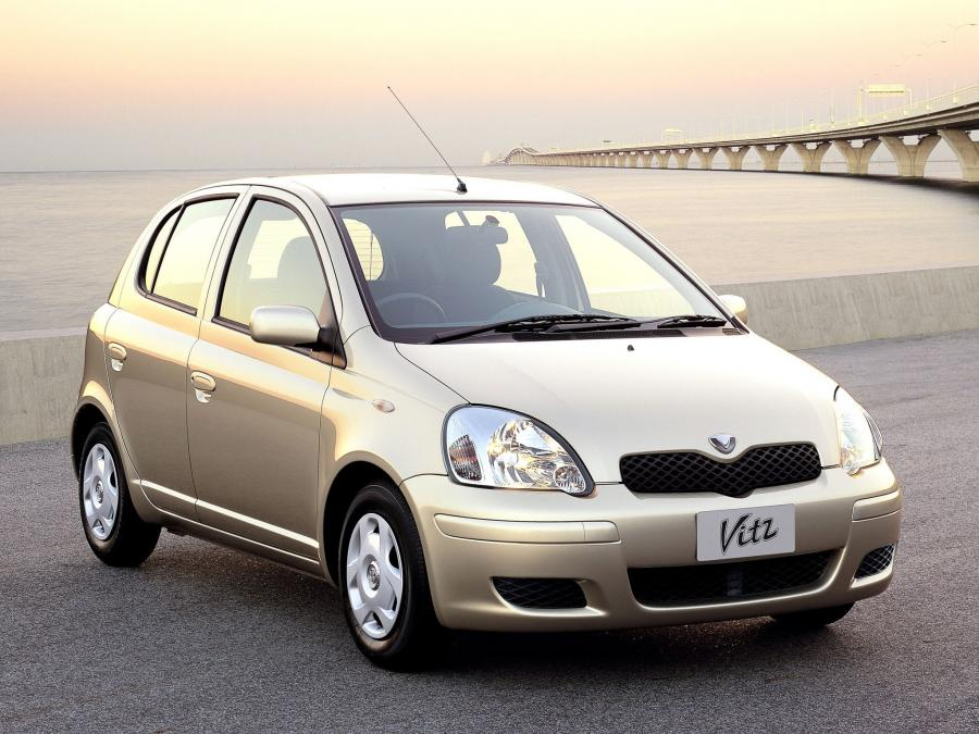 2001 Toyota Vitz F D Package