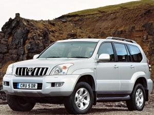 Toyota Land Cruiser Prado 120 5-Door 2003 года (UK)
