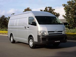 Toyota Hiace Super LWB High Roof Van 2004 года (AU)