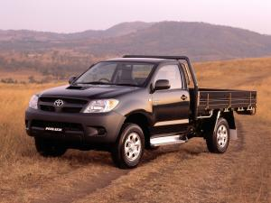 Toyota Hilux Single Cab Chassis 2005 года