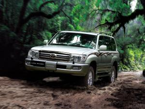 2005 Toyota Land Cruiser 100 VX-R