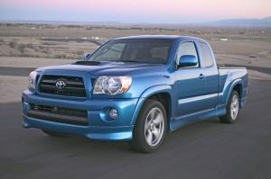 Toyota Tacoma X-Runner in Speedway Blue 2005 года