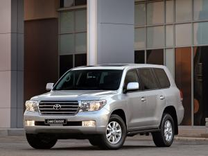Toyota Land Cruiser 200 VX 2007 года