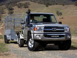 2007 Toyota Land Cruiser 70 Cab Chassis GXL