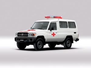 Toyota Land Cruiser 70 Troop Carrier Ambulance 2007 года