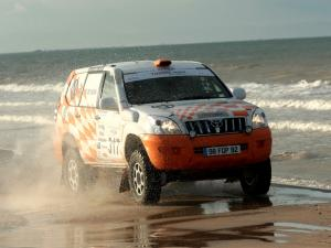 Toyota Land Cruiser Prado 120 5-Door Rally Car 2007 года