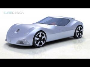 Toyota 2000 SR Concept by SURE DESIGN 2008 года