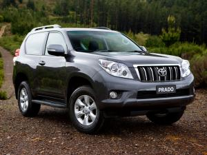 Toyota Land Cruiser Prado 150 3-Door 2009 года (AU)