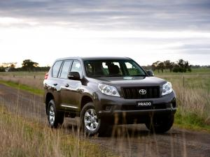 Toyota Land Cruiser Prado 150 GX 5-Door 2009 года